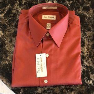 Lux Sateen Van Heusen Dress Shirt